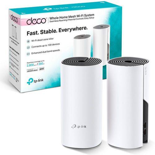 Roteador Wireless Tp-link Deco E4 Mesh AC1200