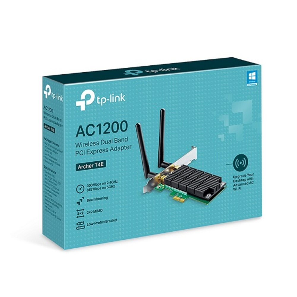 TP-LINK ARCHER T4E AC1200 DUAL BAND WIFI ADAPTER PCI EXP