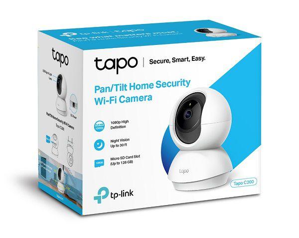 TP-LINK CAMERA PAN/TILT TAPO C200 150MBPS WIFI (H.264)