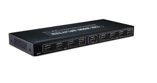 Vídeo Splitter HDMI Com 8 Portas