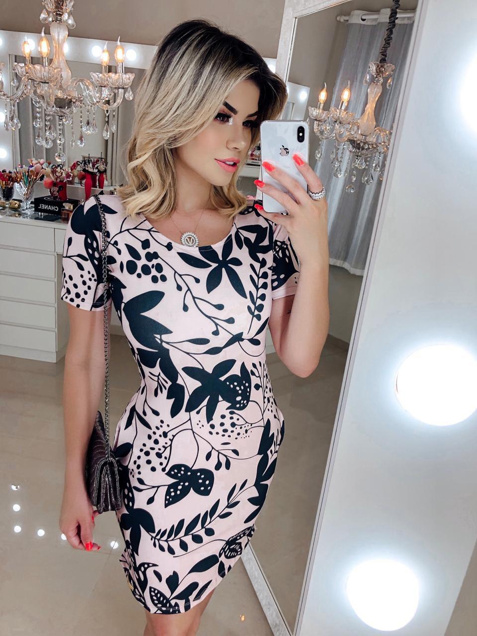 Vestido Bolsinho Orelhinha