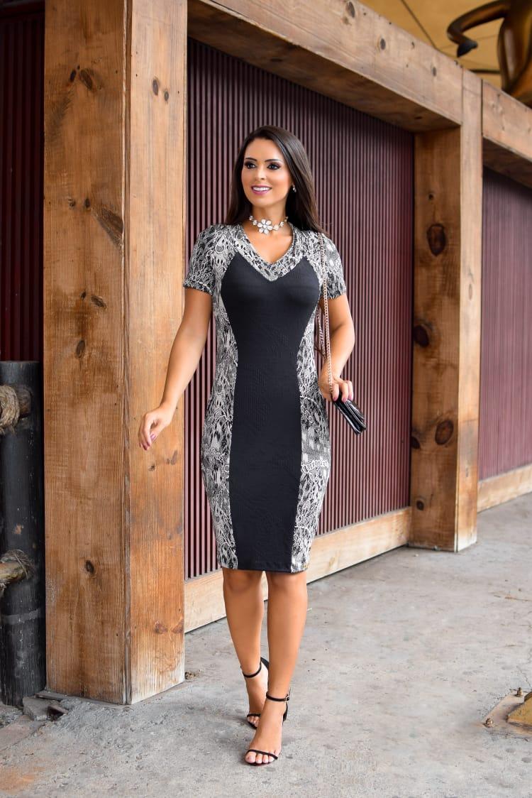 Vestido Midi Recortes II