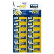 Cartela Com 12 unidades de Super Bonder (2Gr) - TekBond