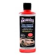 Cera Cremosa Colorida Pérola Com Proteção UV 250ml - Vermelho