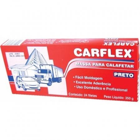 Massa Para Calafetar Preta - Carflex 350 Gr