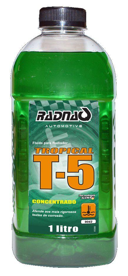 "Aditivo P/ Radiador Conc. ""Verde"" T5 Tropical (1000 Ml) Radnaq"