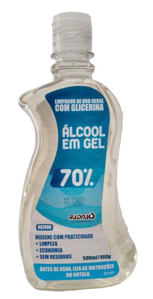 Alcool Gel 70% (500Ml) Radnaq