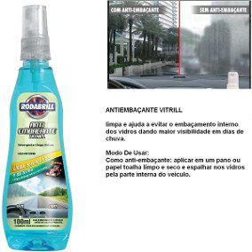 Anti Embaçante (100Ml) Rodabrill