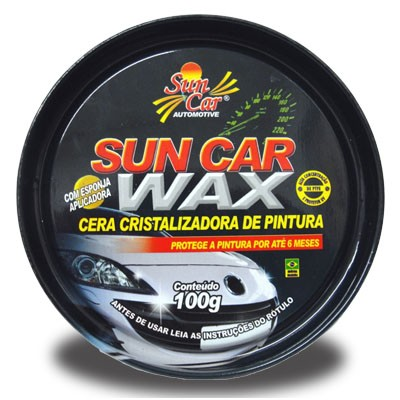 Cera Cristalizadora Suncar Wax (100Gr)