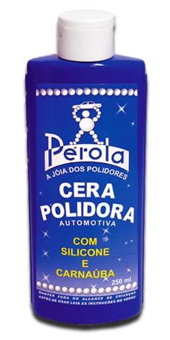 Cera Líquida Polidora Pélola Com Silicone E Carnaúba (250ml) Pérola