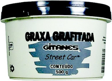 Graxa Grafitada (500 Gr) - Gitanes