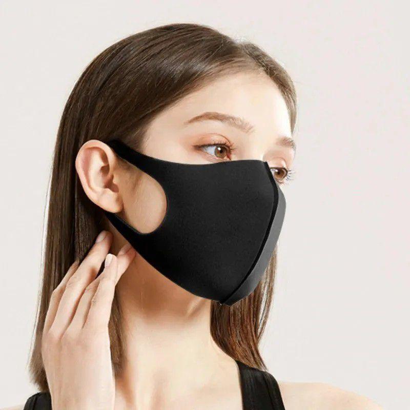 Kit com 03 Mascara Neoprene - Cores Sotidas