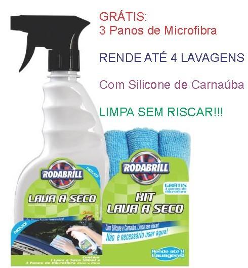 Kit Lava A Seco - Rodabrill