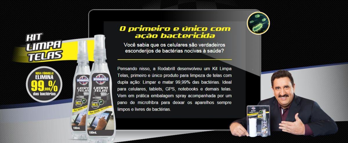 Kit Limpa Telas  (100Ml) Rodabrill