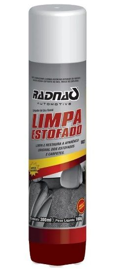 Limpa Estofamento Spray (500Ml) - Radnaq