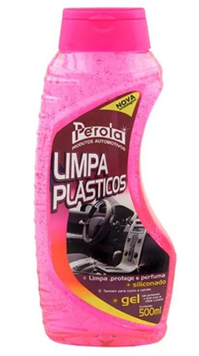 Limpa Plastico Gel (500Ml) - Pérola