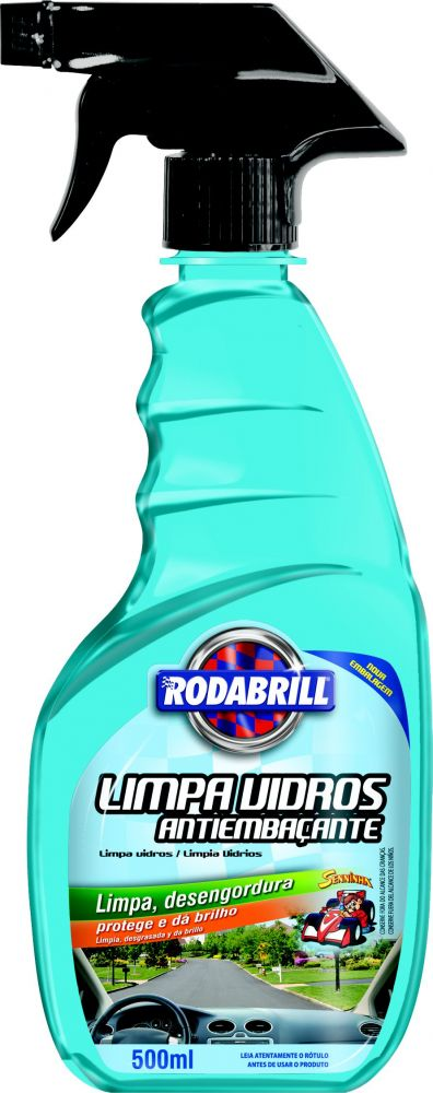 Limpa Vidros Anti-Embaçante (500Ml) -  Rodabrill