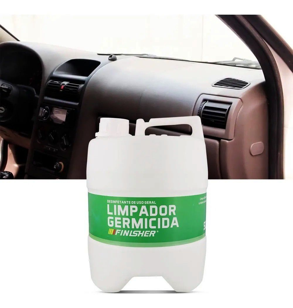 Limpador Germicida Finisher - 5 Litros