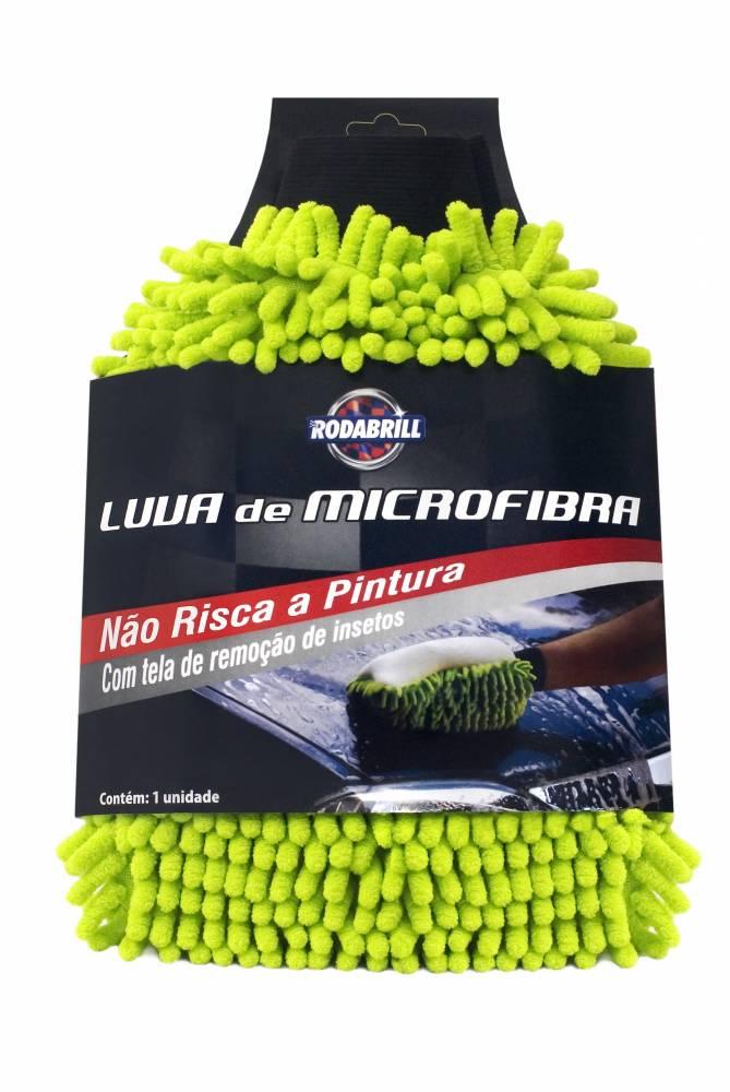 Luva De Microfibra - Rodabrill