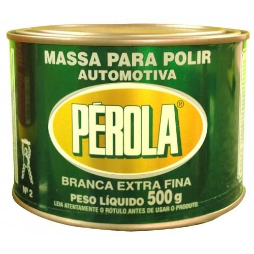 Massa Para Polir Nº 2 Extra Fina (500G) Pérola