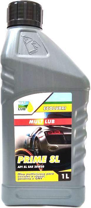 Óleo De Motor Mult Lub Mineral Prime SL 20w50