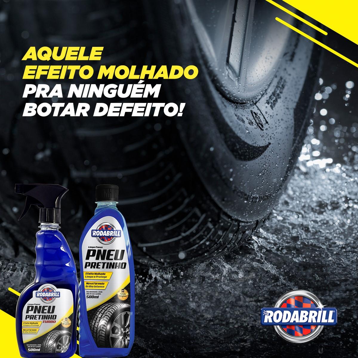 Pneu Pretinho (500Ml) - Rodabrill