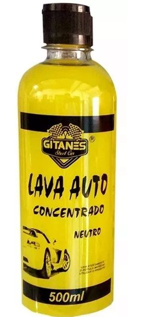 Shampoo Lava Autos (500 Ml) - Gitanes