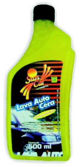 Shampoo Lava Autos Com Cera (500 Ml) - SunCar
