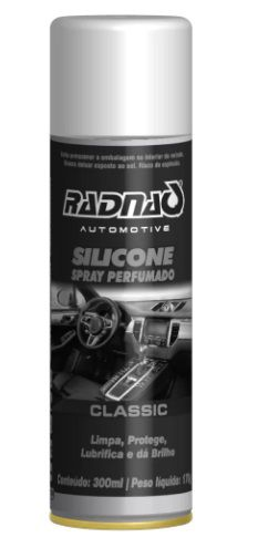 Silicone Spray Perfumado (300 ml) Radnaq