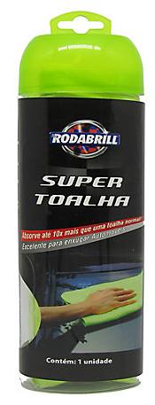 Super Toalha  (66Cm X 43Cm)  - Rodabrill
