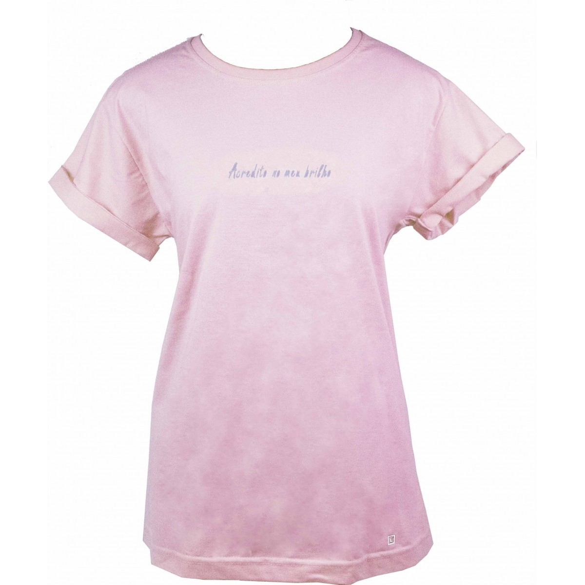 Camiseta Acredito no meu brilho