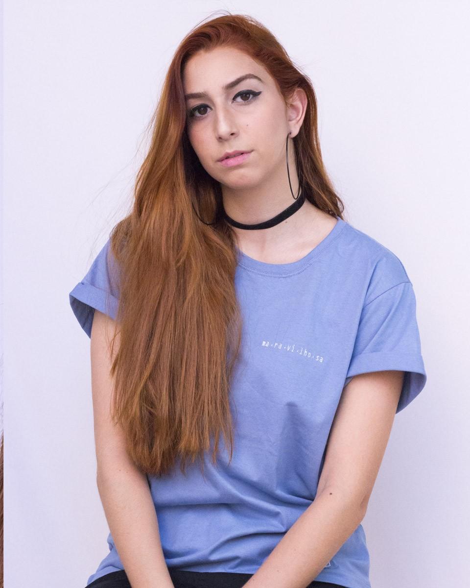 Camiseta Ma-ra-vi-lho-sa