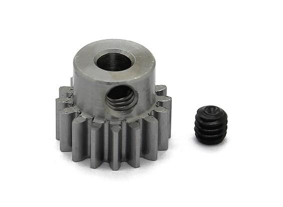 101677 - Pinhão em Aço 48 de Pitch Metric (0,6 Module) 16T