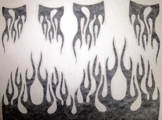 Lhp-0702 - Cartela De Máscara Burning