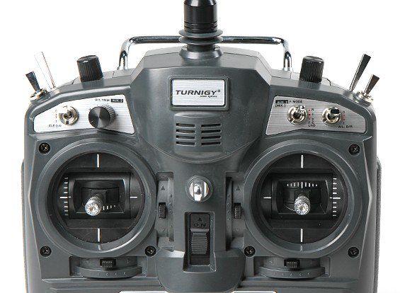132749 - Rádio Controle Turnigy 9X 9 canais com Module & Receptor iA8 (Mode 2) (AFHDS 2A system)