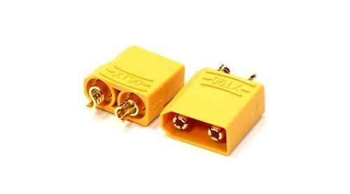 Xt90 - Plug Xt-90 Type Connector Amarelo (par)