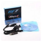 058503 - Simulador 14 em 1 USB para Aerofly, Phoenix, XTR, G5 e outros