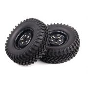 110588 - Rodas com Pneus escala 1/10 Rock Crawler Off-Road (2 und)