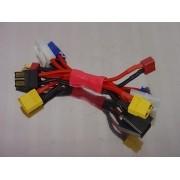 11756 - Adaptador XT60, Traxxas, Tamiya, EC3 ou Deans T-connector