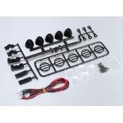 24057 - Crawler LED Light Bar Set 1/10 (Black)