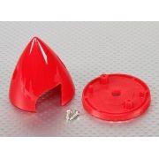 """28769 -  Spinner Plástico 2"""" Vermelho"""