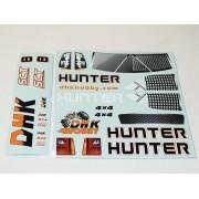 8135-010 - Adesivos Bolha Hunter DHK