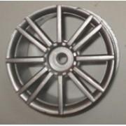 R-05 - Roda Zeus Prata 1/10 escala (4und)
