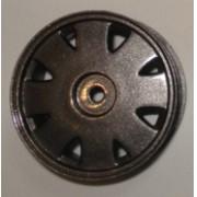 R-09 - Roda Diplomata Chumbo 1/10 escala (4und)