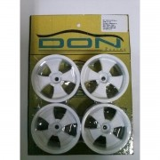 R-37 - Roda Don SR Branco 1/10 escala (4und)