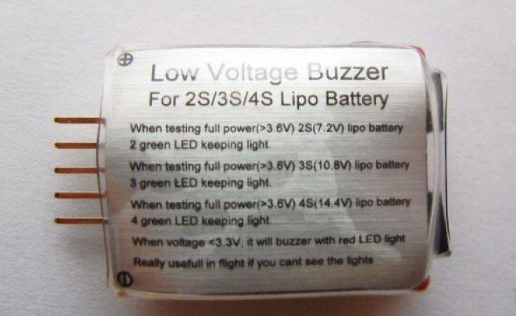 18987 - Alarme Lipo Low Voltage (2s~4s)