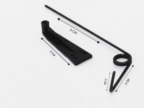 Lhp-0953 - Kit Bequilha Traseira Com Suporte De Nylon