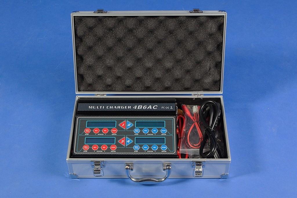 4B6AC - Carregador Inteligente Multifuncional 4B6AC 200W