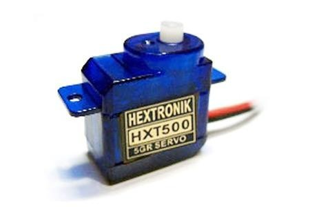 663 - Micro Servo HXT500  0,6 kg / 0.08sec / 6,2 g