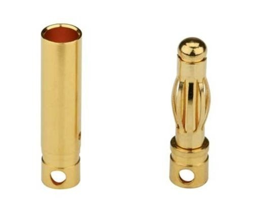 0067 - Conector Gold 4mm (par)